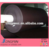2015 self-adhesive laminated rubber magnet sheeting roll