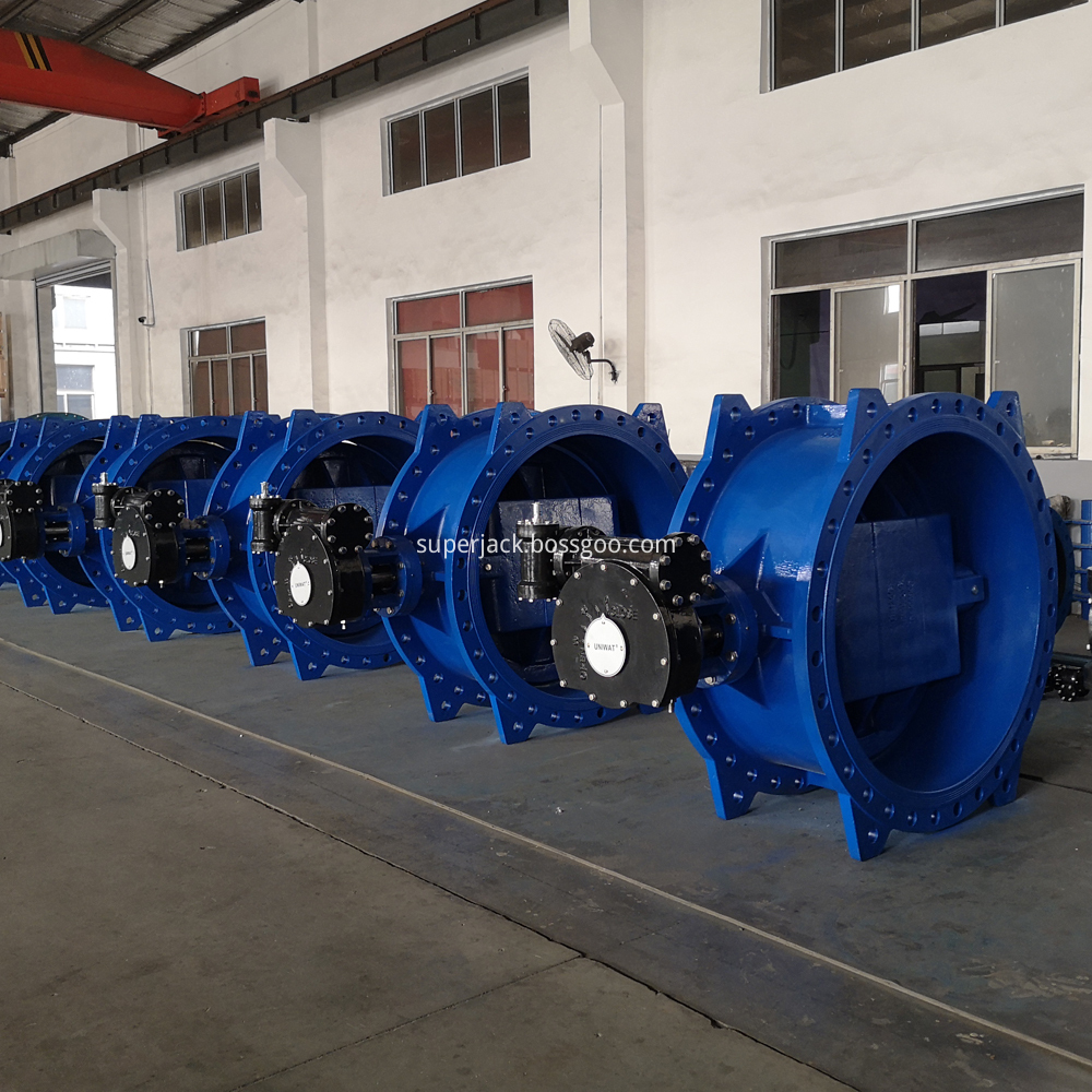 Double Eccentric Flange Butterfly Valve 1