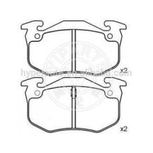 4251 96 brake pads for Peugeot 206 (SW/hatch)