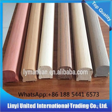 Wholesale engineered wood bulusters/handrailings Sapeli ,Teak etc.