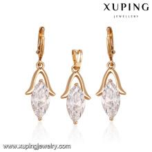 60924 billig schmuck online mode einfach exquisite eine vielzahl von farben großen diamanten vergoldet schmuck-sets