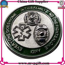 Монета «Заказная монета» с 3D-логотипом