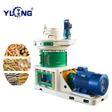 Máquina de prensa de pellets de cáscara de girasol Yulong