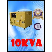 Bon prix générateur électrique 8.5kw / 10kVA refroidi par air petit groupe électrogène diesel silencieux