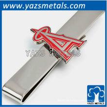 Anaheim angels tie bar, clipe de gravata em metal feito sob encomenda com design