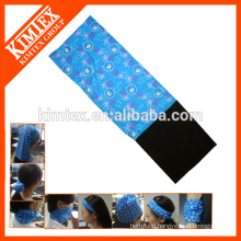 Magic seamless customized tube winter fleece neck wear