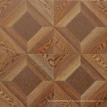 Commercial 12.3mm AC4 Embossed Oak Sound Absorbing Laminate Flooring