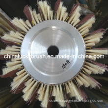 High Quality Aluminium Hub Brush for Sand Machinery (YY-337)