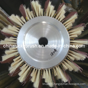 High Quality Aluminium Hub Brush for Sand Machinery (YY-337)