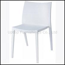 Элегантность Белый пластиковый стул для столовой оптом (СП-uc138)