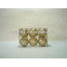 2013 bolas de artesanía de plástico transparente