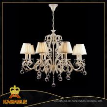 Hotel Crystal Kronleuchter Dekoratives Licht (CL 5463/8 YW + WT)