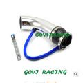 3in Auto Aluminium Luft Ansaugrohr mit 260mm Universal für Auto Styling