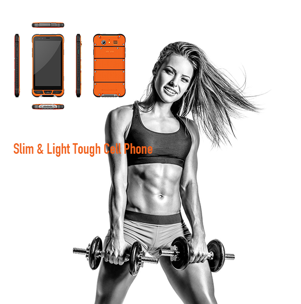 Slim & Light Tough Cell Phone