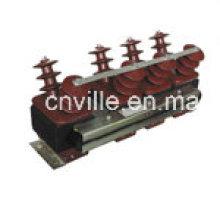 Transformador de voltaje de estructura semi-cierre de resina epoxi (JSZF-11G) PT