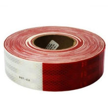 Vehicle Reflective Tape with Red-White Prismatic Made of PVC