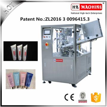 Plastikverpackungsmaterial-weiche Schlauch-Füll- und Verschließmaschine