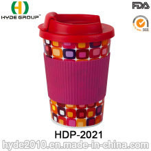 High Quality 10oz Travel Coffee Mug with TPR Sleeve (HDP-2021)