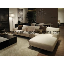 Italian Fashion Style Leather Sofa Home Sofa Furniture (D-79)