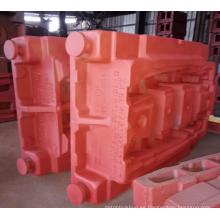 Fundición de la cama del torno de la fábrica de China, bastidor del soporte del torno
