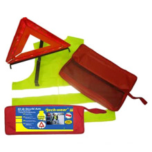 Kit de sécurité utilisé sur la sécurité routière