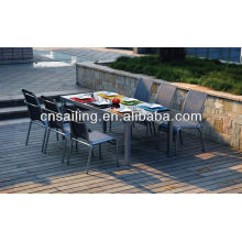 Hot Sell cheap patio furniture dining sets chair and table