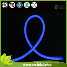 Светодиодная неоновая вывеска для синей крышки из ПВХ