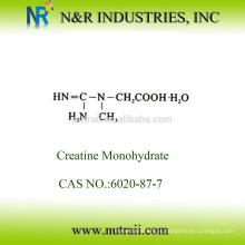Creatina monohidratada em pó 99,5% 80mesh e 200mesh 6020-87-7
