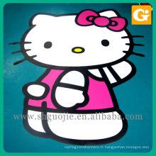Découpez le sticker de mur de mode de Kitty, autocollant fait sur commande