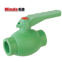 PPR Ball Valve with Brass Ball Type C