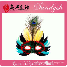 Unique Handmade Party Bird Head Masks Feather Mask