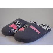Cómodo y ligero señoras felpa interior zapatillas