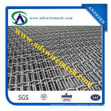 Engranzamento de fio frisado quadrado das vendas da fábrica feito em China