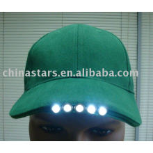 Color surtido Reflective led light ball caps