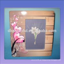 Quadros decorativos de cerâmica de design moderno, moldura de foto de cerâmica para decoração de casa