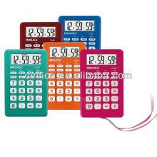 Calculadora com calculadora / calculadora com despertador, calculadora de presente com corda CA-89
