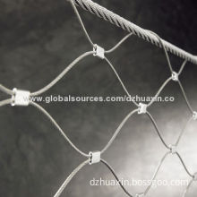 Flexible Stainless Steel Wire Rope Mesh