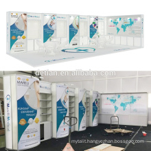 Detian Offer 10'x30' Exhibition Trade Fair Booth Design from Shanghai