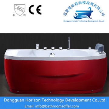 CE Two Persons Corner Rectangle Jacuzzi Bak mandi