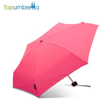 high quality home&garden waterproof outdoor colorful five folded umbrella