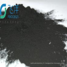 Carbone activé par maille de poudre de bois pour les produits chimiques de blanchiment d'huile