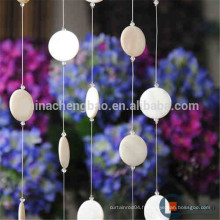 Décoration de décoration rideau en perles coquillées
