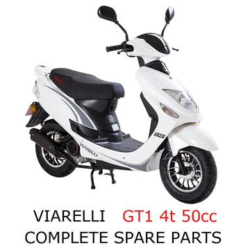 Viarelli GT1 4t 50cc Scooter Part