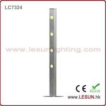 Lumière chaude de vitrine de Cabinet des ventes 4 * 1W LED pour des bijoux