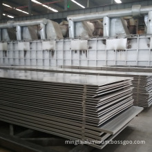 Exterior building material 1100h18/h16 alloy for Honeycom Aluminum composite panel in Dubai