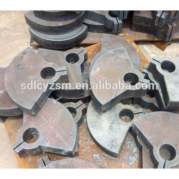 Parte de corte de acero al carbono para la máquina