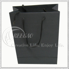 Sac en papier noir (KG-PB033)