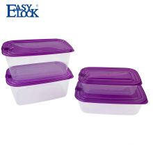 Chinese custom logo airtight pp storage box