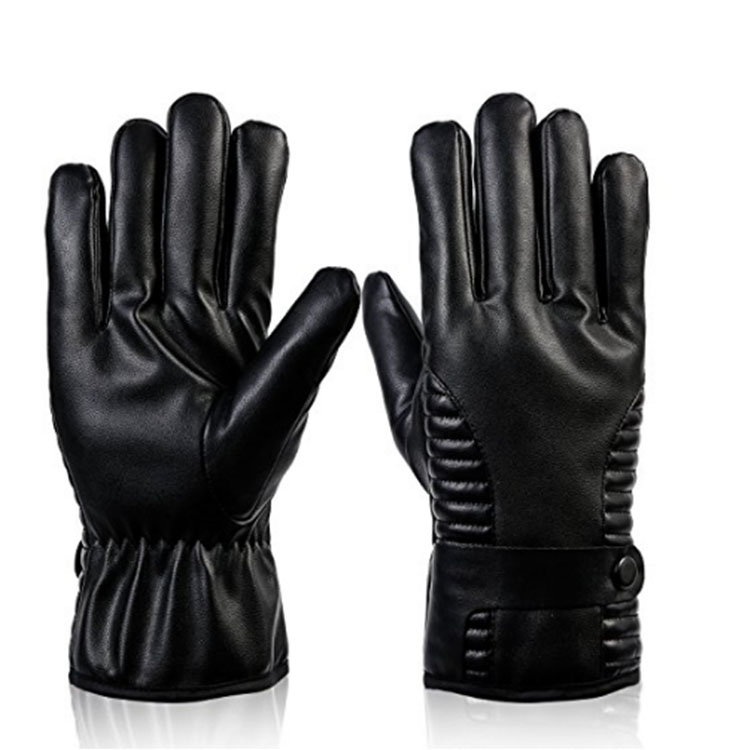 Black Touch Screen Warm Gloves