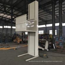 Vertikaler elektrischer Patienten-Einmannlift Genießen Sie die Freiheit Ihres Hauses mit einem Rollstuhl durch den Bodenlift.